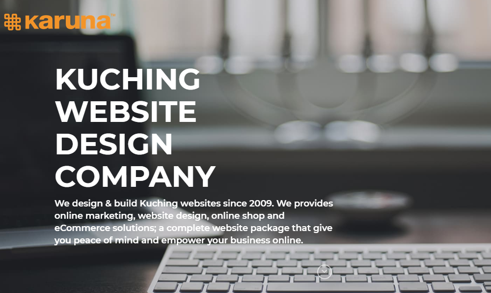 Karuna Website Design