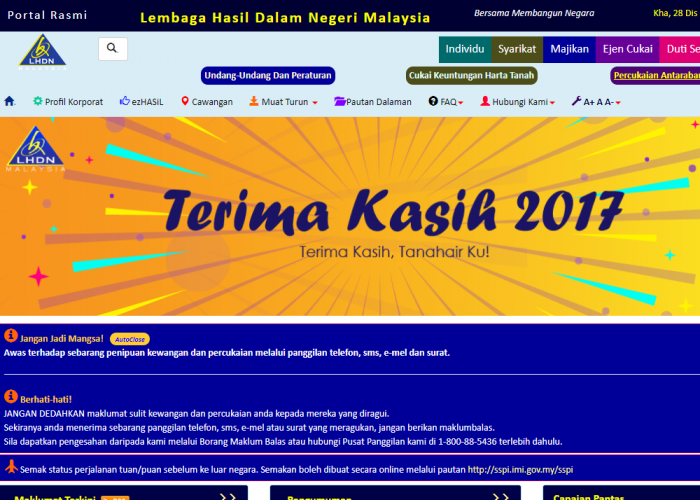 Lembaga Hasil Dalam Negeri Malaysia – LHDNM