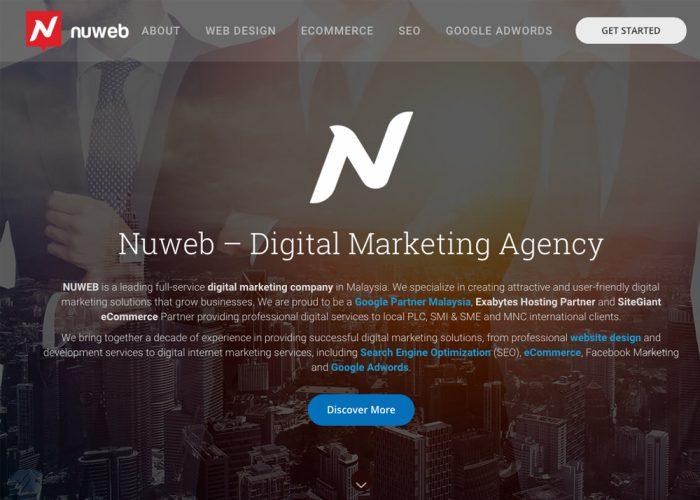 Nuweb – Digital Marketing Agency