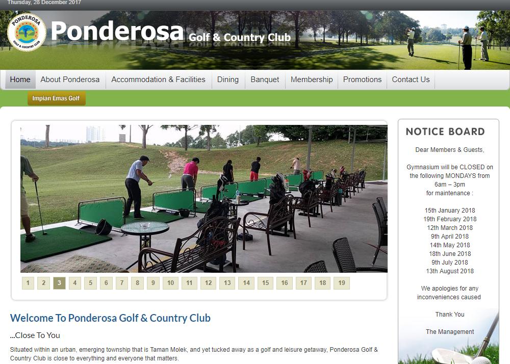 Ponderosa Golf & Country Resort