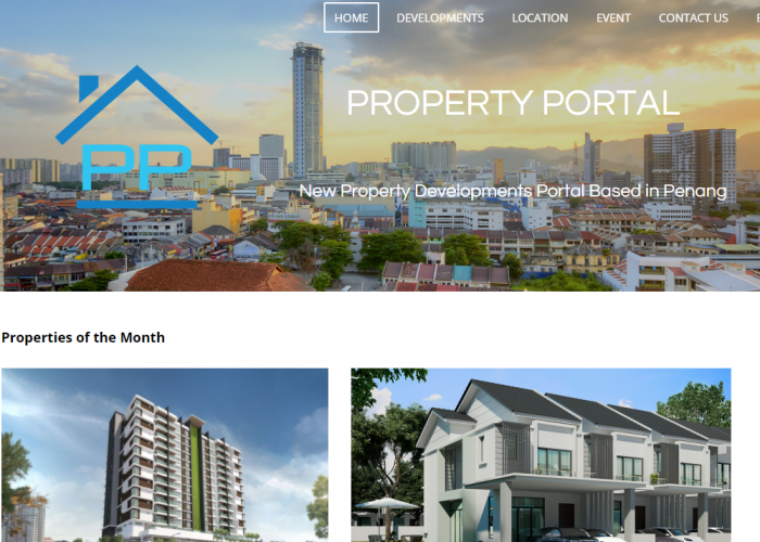 Property Portal – New Property Developments Portal Based in Penang