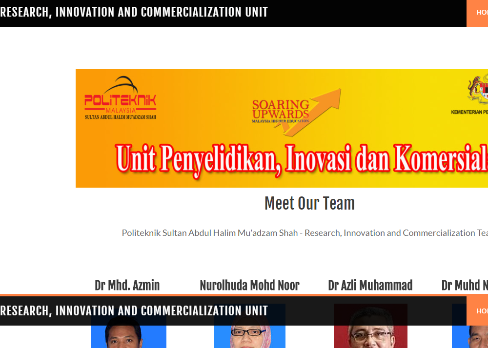 Research, Innovation and Commercialization Unit