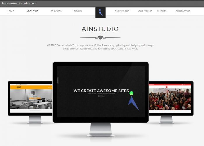 AINSTUDIO Official Website