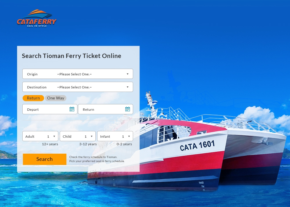Cataferry - Online Tioman Ferry Ticket - Malaysia Website Awards