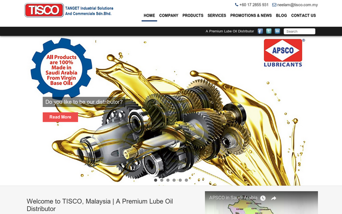 TANGENT Industrial Solutions and Commercials Sdn. Bhd (TISCO)