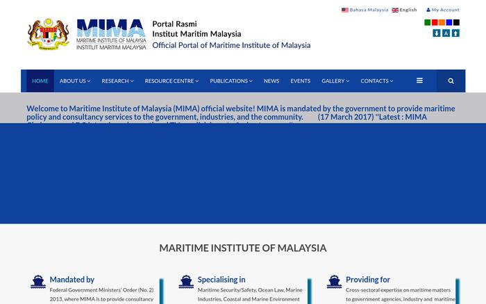 MIMA – Maritime Institute of Malaysia