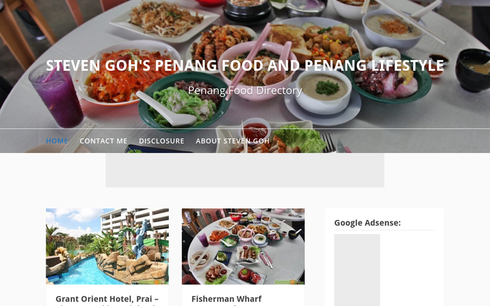 STEVEN GOH'S PENANG FOOD AND PENANG LIFESTYLE