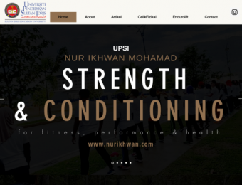 Nur Ikhwan Mohamad: Strength & Conditioning