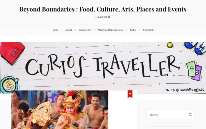Beyond Boundaries: Food, Culture, Arts, Places and Events