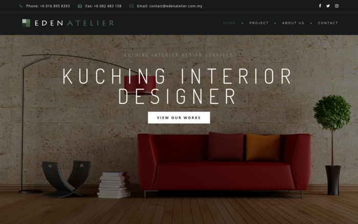 Eden Atelier – Kuching Interior Designer | Design and Build