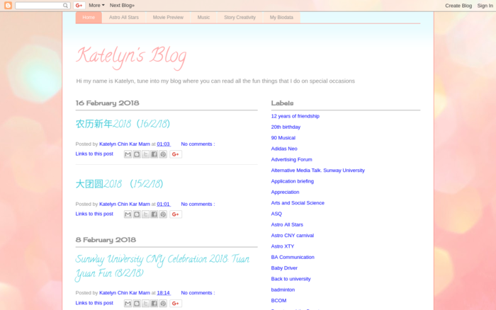 Katelyn's Blog