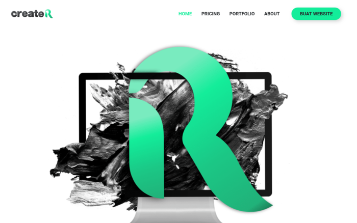 CreateR | Reka Website Profesional