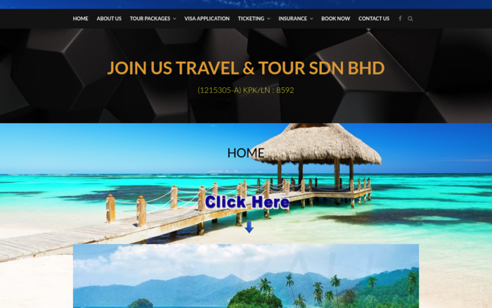 JOIN US GO TRAVEL
