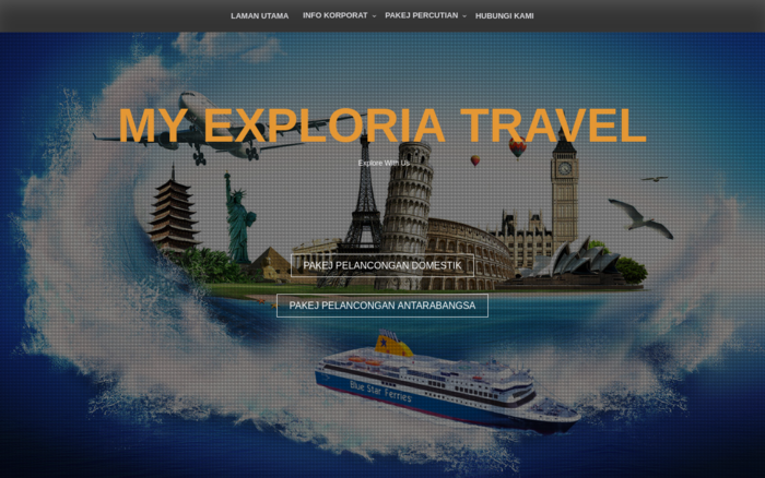 MY EXPLORIA TRAVEL – TRAVEL AGENCY