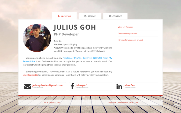 Julius's Blog