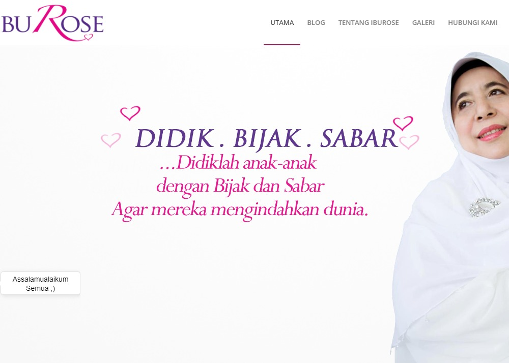 Ibu Rose | Family & Love Guru