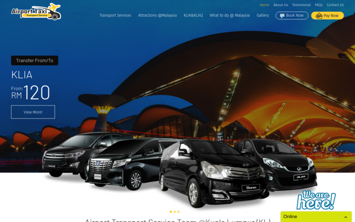 Airport Taxi Transport Service Malaysia