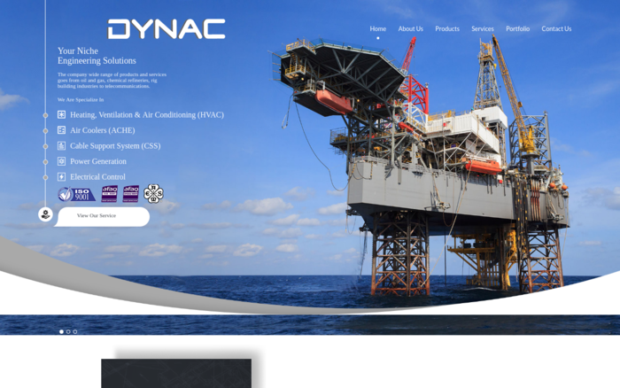 Dynac, Engineering Solutions