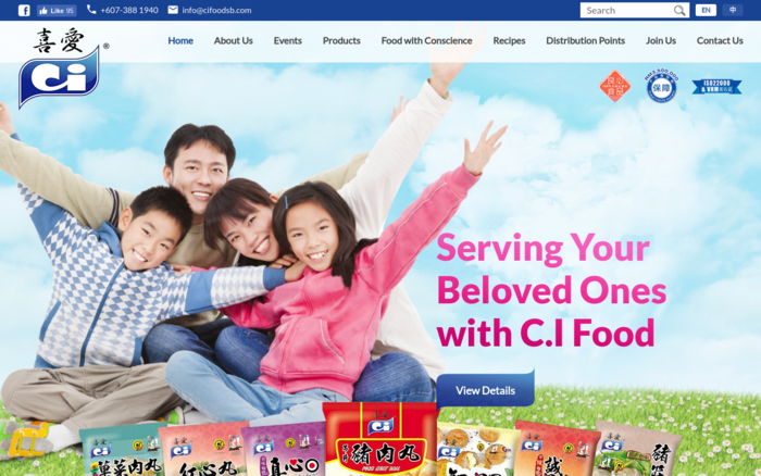 CI Food, Frozen Pork Products Manufacturer