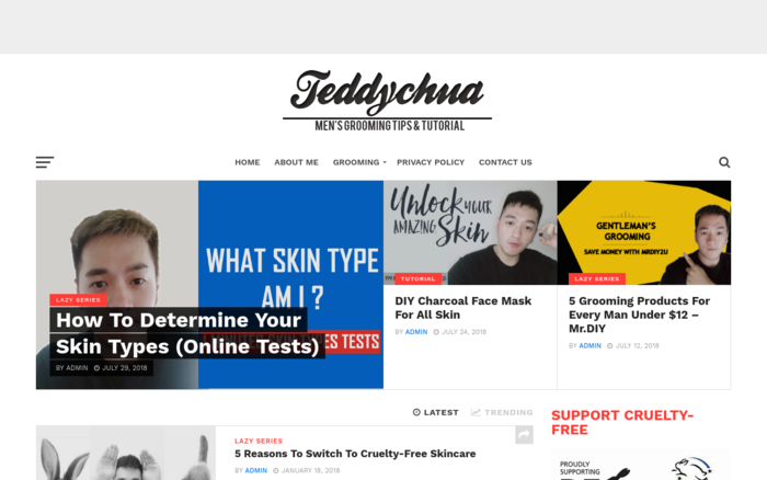 Teddy Chua- Men's Grooming Tips & Tutorial