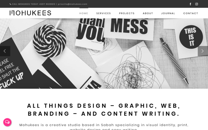 Mohukees Design & Copywriting