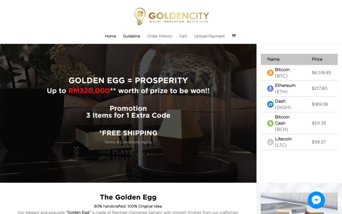 Golden City Premium