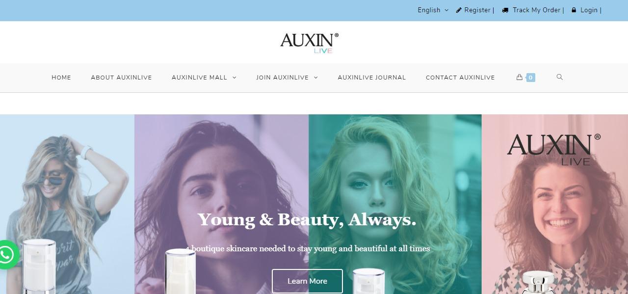 Auxinlive skincare