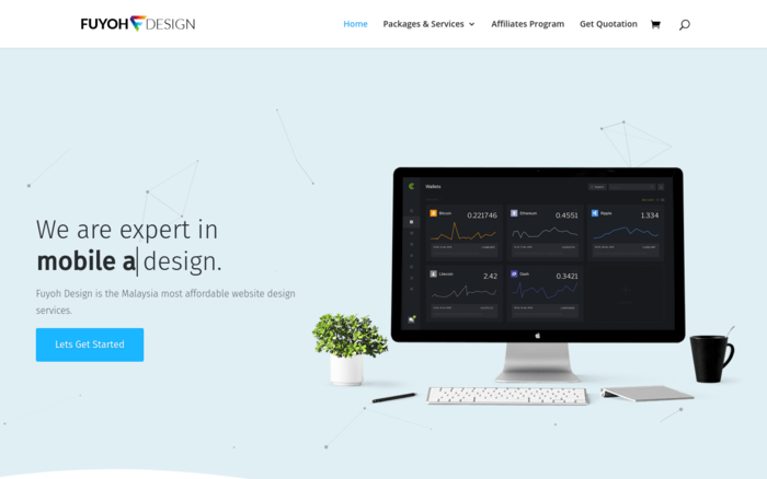 Fuyoh Design – Malaysia Most Affordable Website Design Services