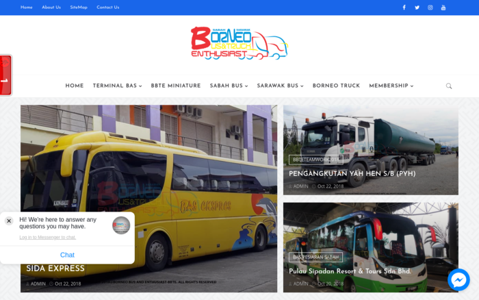 Borneo Bus and Truck Enthusiast – BBTE