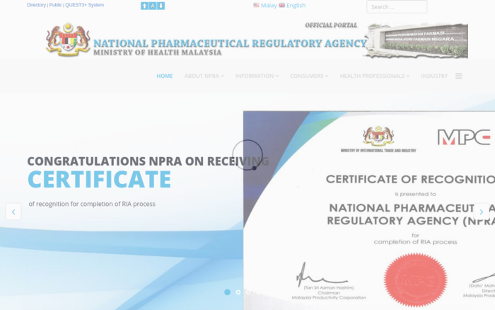 National Pharmaceutical Regulatory Agency