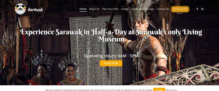 Sarawak Cultural Village, the only living museum in Sarawak