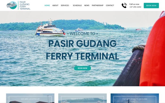 Pasir Gudang Ferry Terminal - Malaysia Website Awards 2018Malaysia