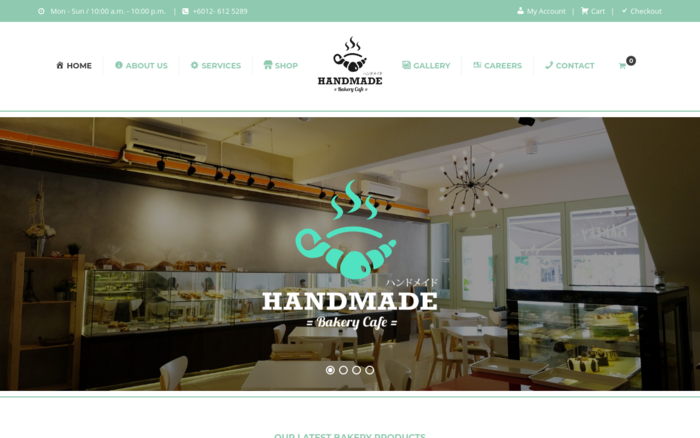 Handmade Bakery Cafe