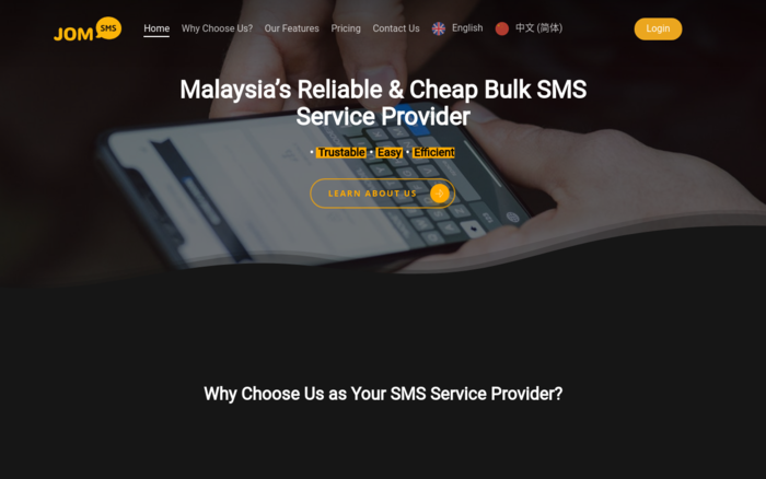 Malaysia's Reliable & Cheap Bulk SMS Service Provider