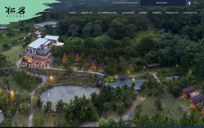 Song Yan Resorts Website