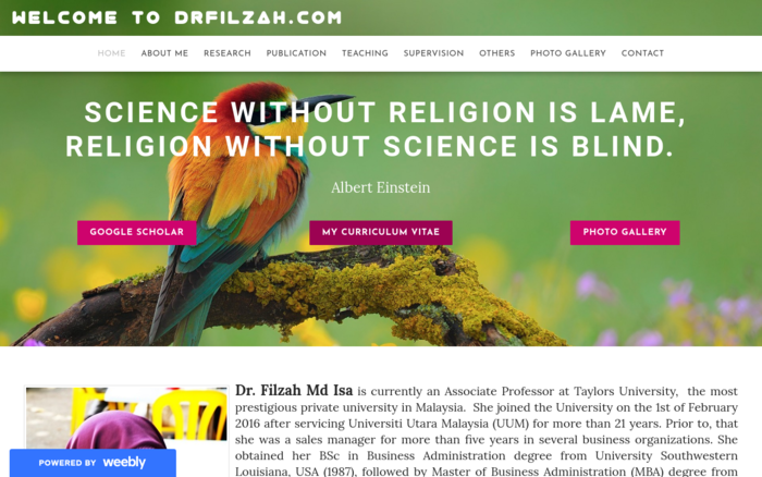 Welcome to Drfilzah.com
