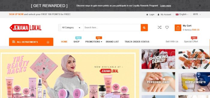 JenamaLokal.com: Online Marketplace For Malaysian Products