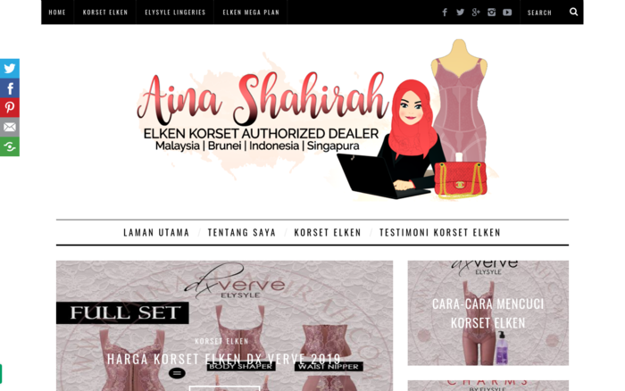 Aina Shahirah – Elken Korset Authorised Dealer