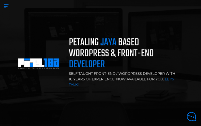 Pixel 182 — Petaling Jaya Based WordPress & Front-End Developer