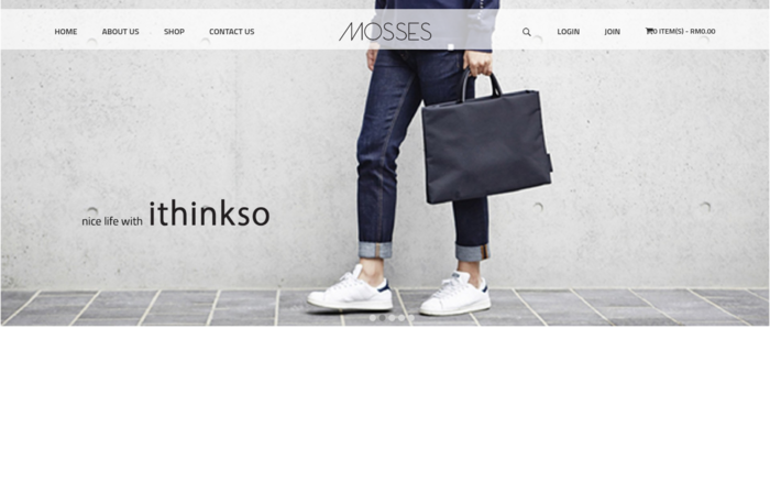 Mosses Online Store