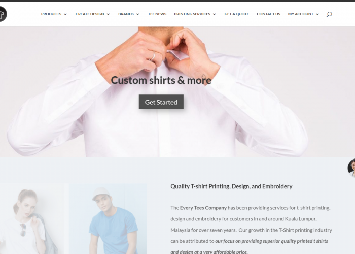 Custom T Shirt Printing & Design | Dependable & Reliable Services
