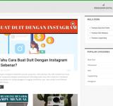 Pemasaran Digital & Bisnes Online