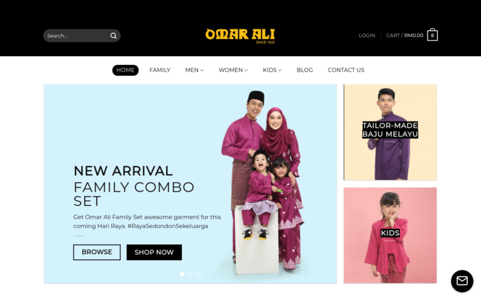 Omar Ali – Jenama No 1 Baju Melayu Sejak 1935