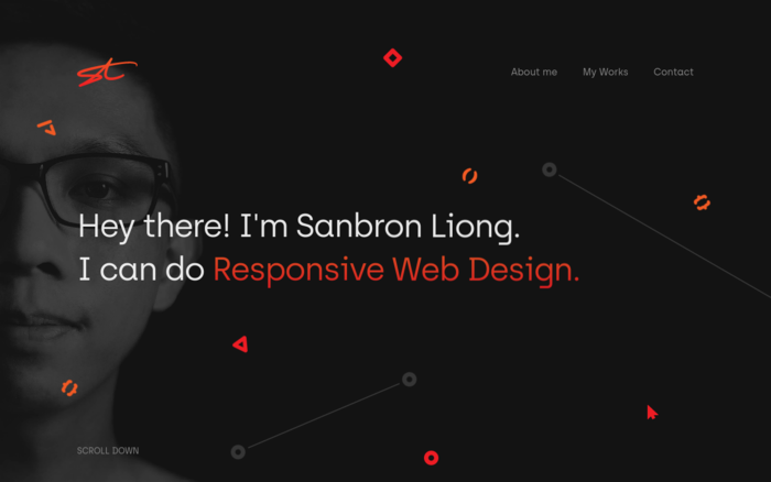 Sanbron Liong Portfolio Website