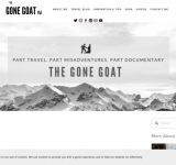 The Gone Goat – Offbeat Travel Adventure Blog