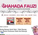 Shahada Fauzi | Personal & Lifestyle Blogger