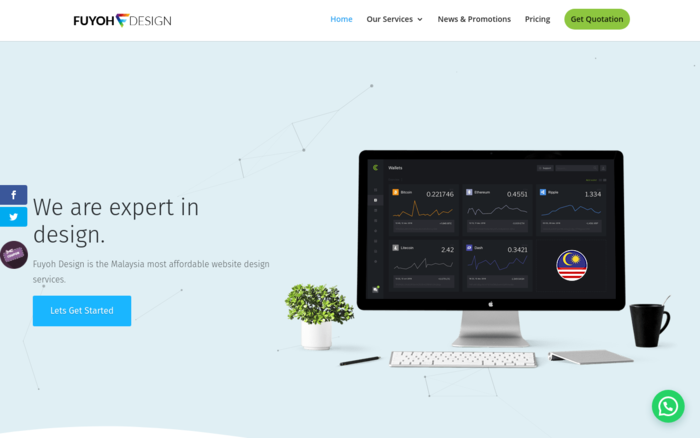 Fuyoh Design – Malaysi Website Designer