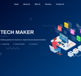 Tech Maker –  Website Design & Development
