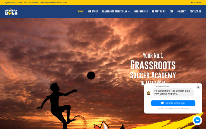 No. 1 Grassroots Soccer School In Malaysia