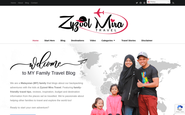 MY Family Travel Blog